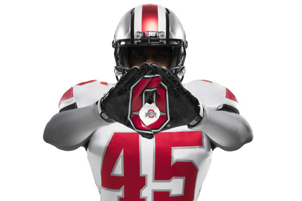 Buckeyes to Wear All-White Uniforms for 'The Game'