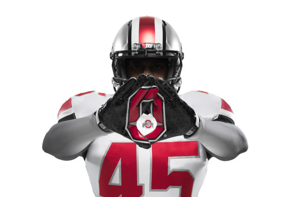 Ohio State Will Wear All-White Nike Uniforms vs. Michigan on November 30
