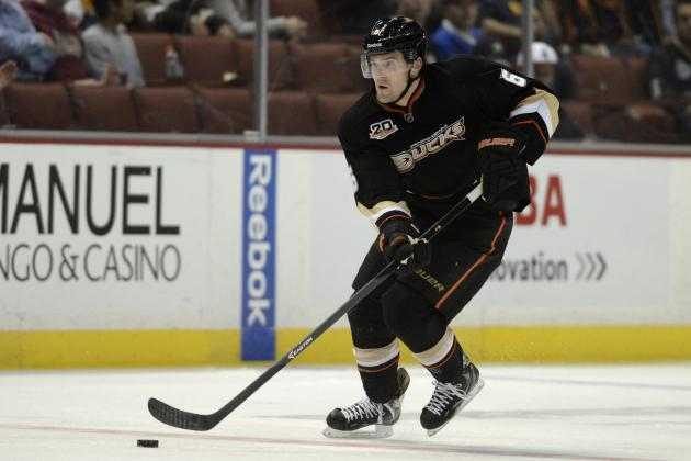 Ducks Defenseman Lovejoy Says Playing for Penguins Wasn't Easy