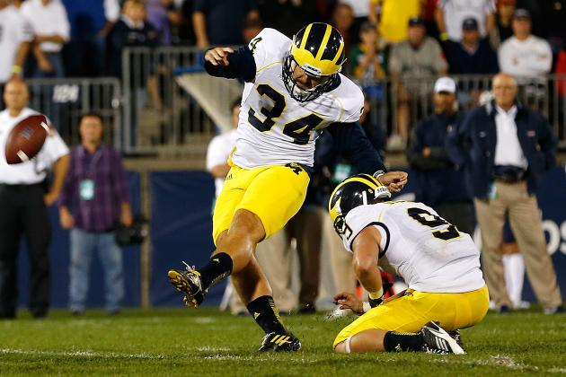 Dissecting How Michigan's Field-Goal Unit Got on the Field so Quickly