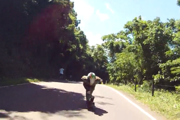 Surviving a Downhill Skateboard Crash at 65mph