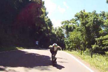 Surviving a Downhill Skateboard Crash at 65mph
