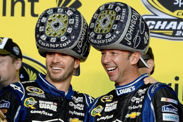 What Makes the Jimmie Johnson-Chad Knaus NASCAR Partnership So Prolific?
