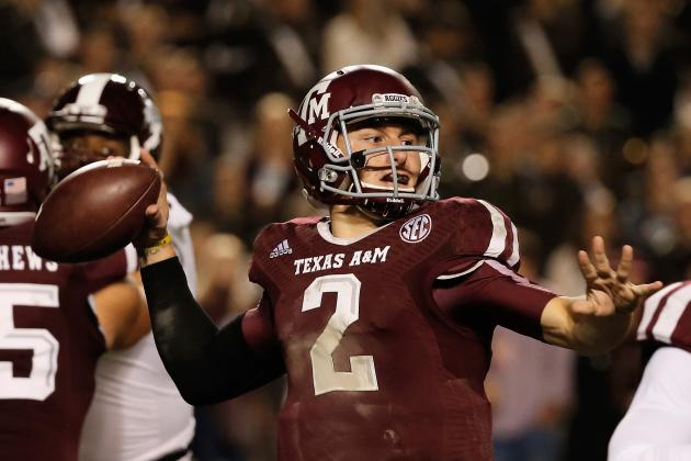 Texas A&M Football: Why Johnny Manziel Is the Aggies' MVP for 2013