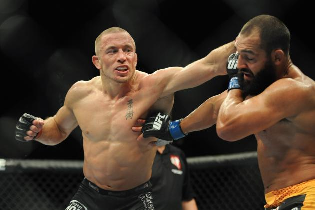 Georges St-Pierre Trainer Firas Zahabi Would 'Love' to See St-Pierre Fight Again