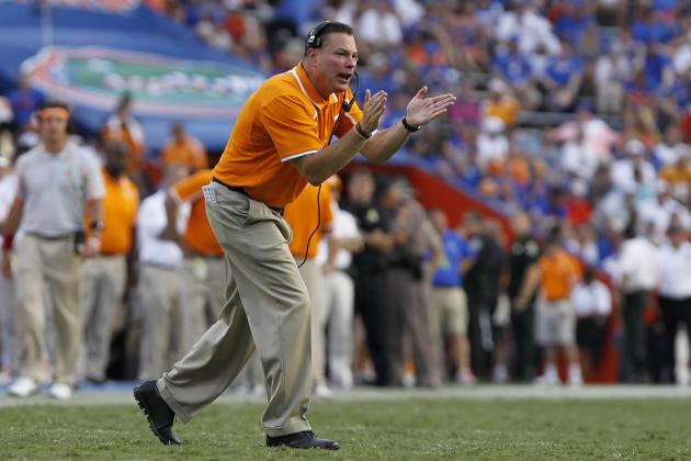 Tennessee Football: Butch Jones' Career, Vols Future on the Line vs. Vanderbilt