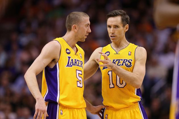 Steve Blake Better Fit for Lakers Starting Lineup Than Broken-Down Steve Nash