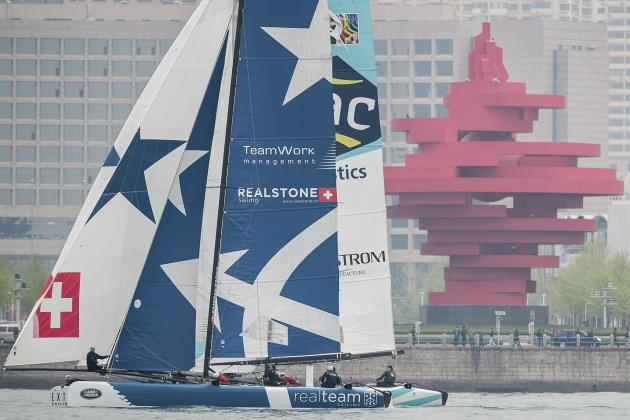 Superb End of Season for Realteam at Extreme Sailing Series in Brazil