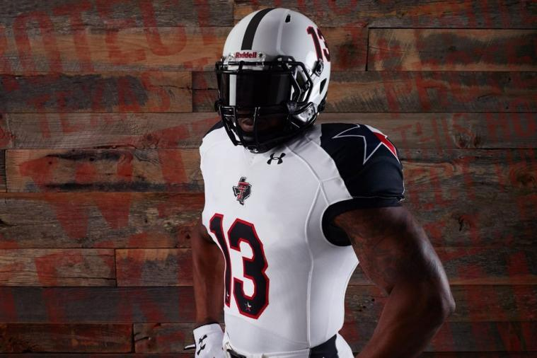 Texas Tech Unveils 'Lone Star' Uniforms for Matchup Against Texas Longhorns