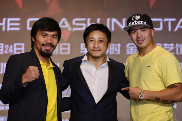 Pacquiao vs. Rios Fight Card: Previewing Matches Ahead of Main Event Bout