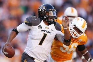 Missouri Tigers Football: Quarterback James Franklin Set to Return