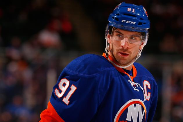 How John Tavares Has Won over New York Islander Teammates in 1st Year as Captain