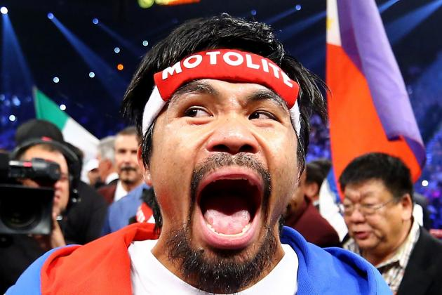 Manny Pacquiao Feels Up to the Challenge of Facing Brandon Rios