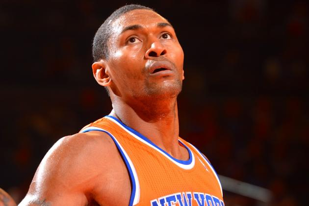 Metta World Peace Injury: Updates on Knicks Forward's Knee, Likely Return Date