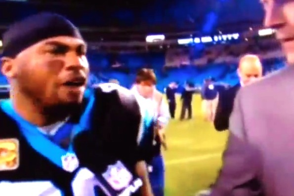 Steve Smith Tells Aqib Talib 'Ice Up, Son' After Panthers Victory