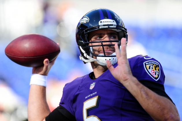 Flacco Completing NFL-Worst 22.6% of Deep Passes