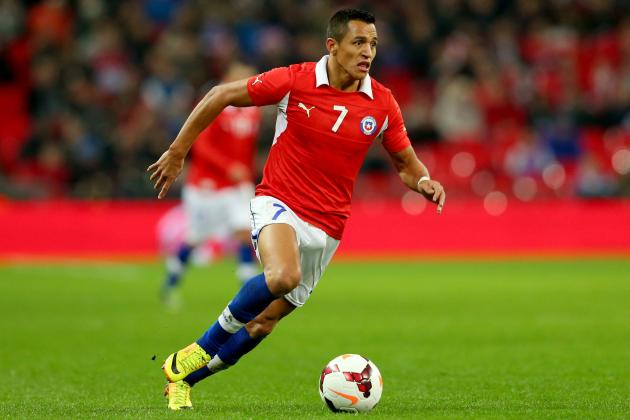 International Scouting Report: Alexis Sanchez vs. England