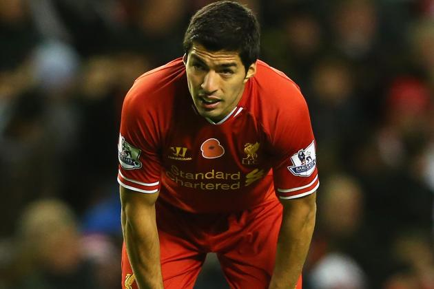 Luis Suarez Reportedly to Be Rushed Back by Liverpool Private Jet for Everton