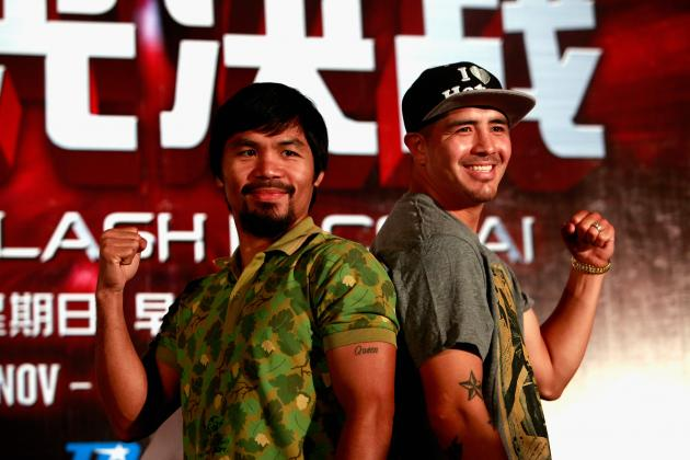 Manny Pacquiao vs. Brandon Rios: Fight Time, Date, Live Stream, TV Info and More