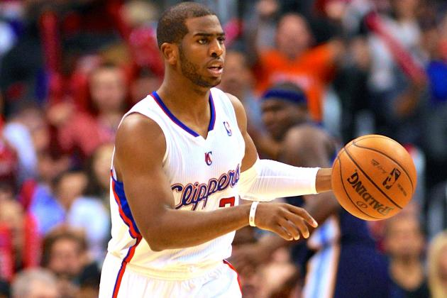 Chris Paul Joins Magic Johnson in Elite NBA Point Guard Company to Begin 2013-14