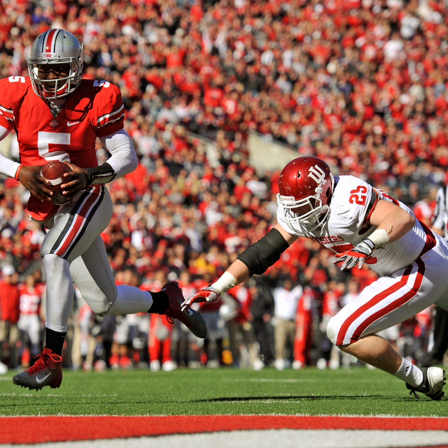 Ohio State Buckeyes vs. Indiana Hoosiers Complete Game ...
