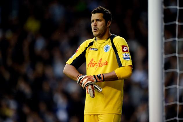 Julio Cesar Free to Leave QPR Amid Manchester City and Arsenal Transfer Reports