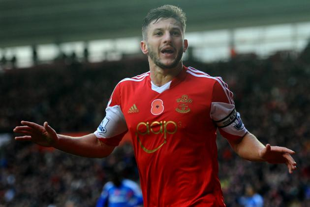 Making Adam Lallana's Case for England's 2014 World Cup Squad