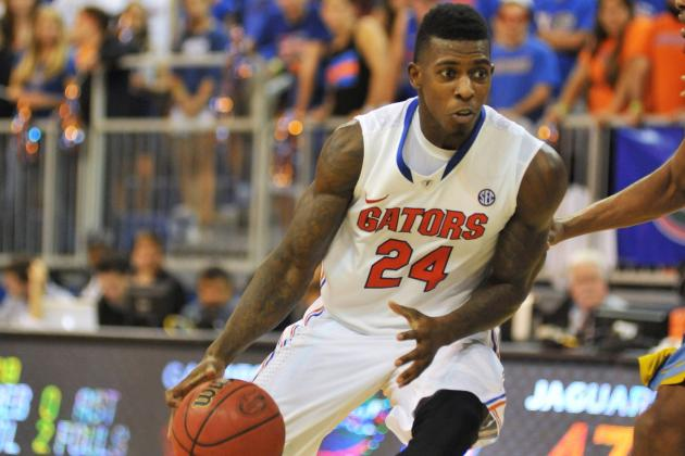 Prather Steps Up for Gators