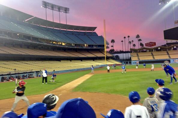 Yasiel Puig Played Baseball with Kids at Dodger Stadium Because He's Awesome