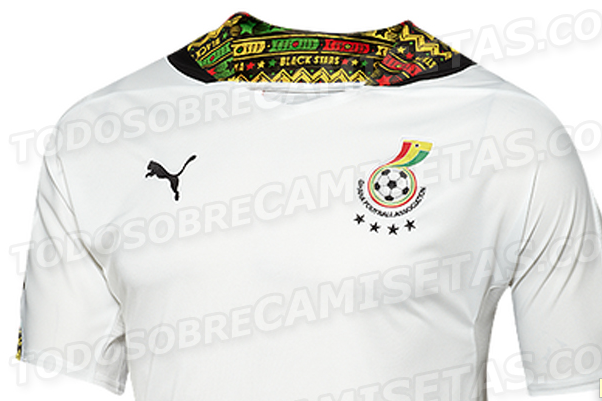 Ghana Home Shirt for World Cup 2014: Leaked [PHOTO]