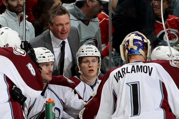 Avs Know There's No Reason to Worry
