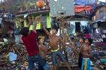 Basketball Game Breaks Out in Philippines After Typhoon