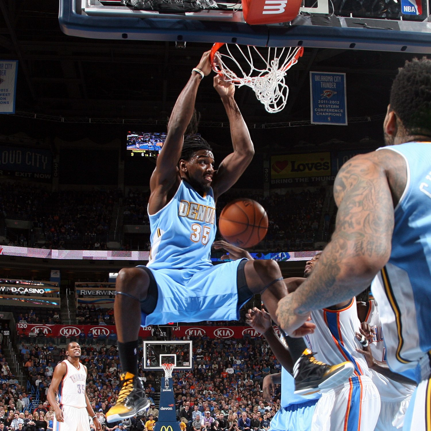 Dunk Of The Night From Monday's NBA Action