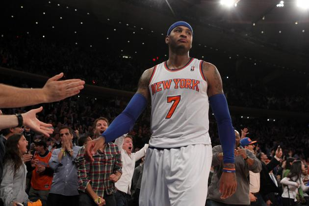It's Time for Knicks to Be Concerned About Carmelo Anthony Bolting New York