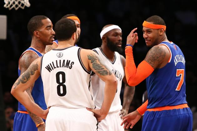 Knicks vs. Nets: Which New York Team Is More Likely to Miss the Playoffs?