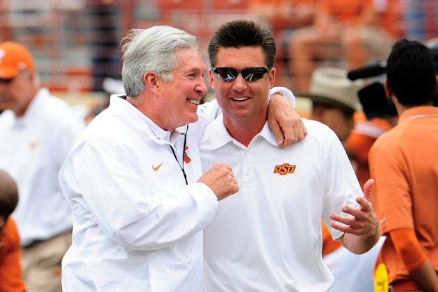 Mike Gundy Thinks SI Report on OK State Has Helped Cowboys' Recruiting, Program