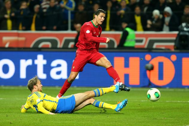 Watch Cristiano Ronaldo's Hat-Trick for Portugal vs. Sweden in World Cup Playoff
