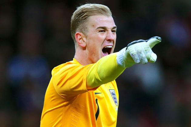 Joe Hart Keeps Hold of England Spot as Tom Cleverley Lets Slip World Cup Chance