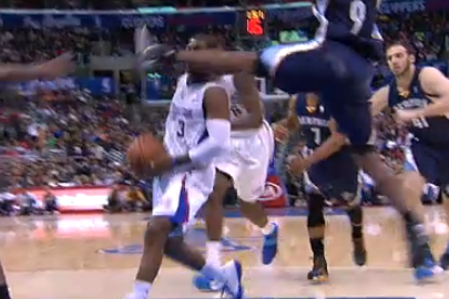 Grizzlies' Tony Allen Suspended One Game for Kicking Chris Paul in the Face