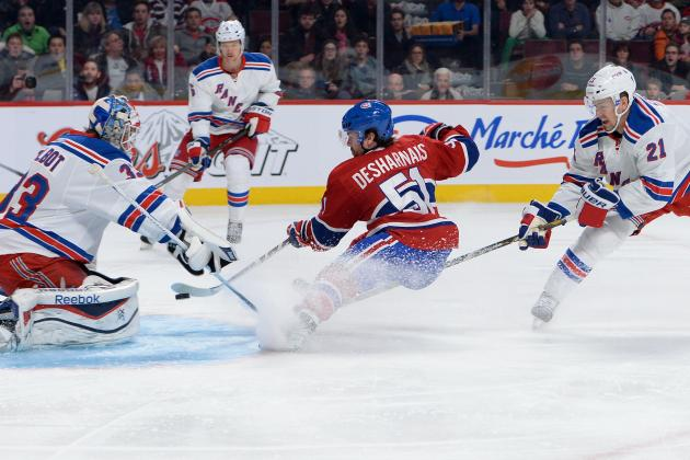 What Should Montreal Canadiens Do About Struggling Center David Desharnais?