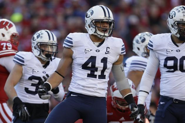 BYU Football: Why Uani 'Unga Is Cougars' MVP for 2013