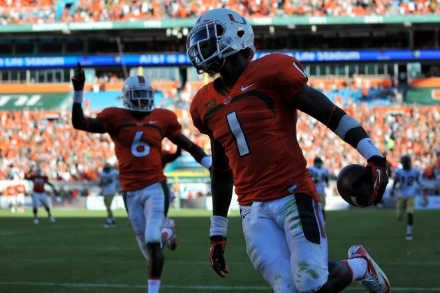 Miami Football: Why Allen Hurns Is Hurricanes' MVP for 2013