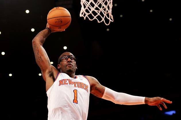 Amar'e Stoudemire Dunks Twice in a Minute, Including Smash on Luigi Datome