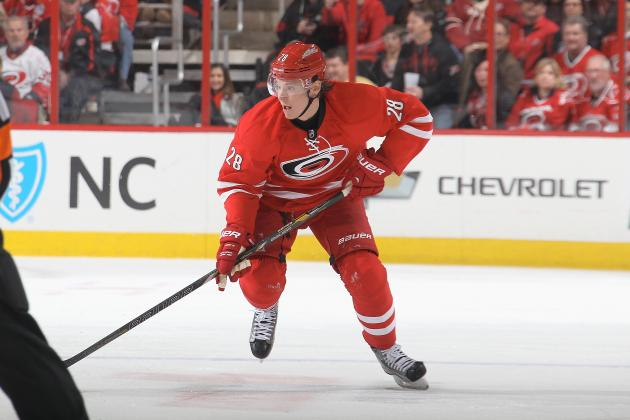 Alexander Semin's Concussion Adds to Carolina Hurricanes' Injury Woes