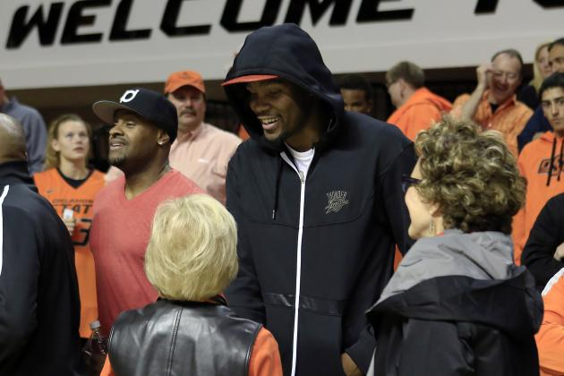 Kevin Durant: Oklahoma State's Marcus Smart 'Can Play in the League Right Now'