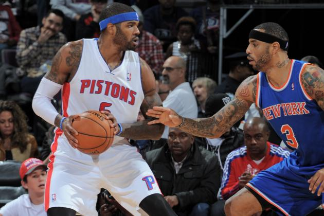 Pistons Beat Knicks for First Time Since 2011