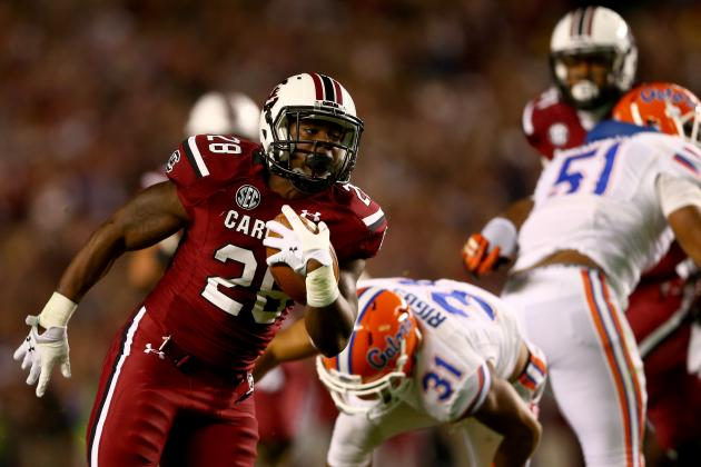 South Carolina Football: Why Player Mike Davis Is Gamecocks' MVP for 2013