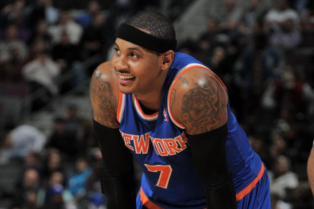 Carmelo Anthony, Amar'e Stoudemire Embarrass Already-Embarrassing NY Knicks