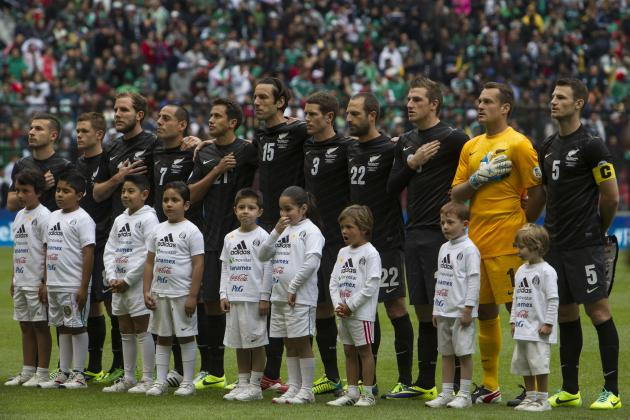 New Zealand Announce Starting XI vs. Mexico