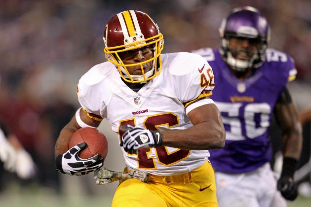 Alfred Morris: Is the Washington Redskins Star Runner Getting Better in Year 2?
